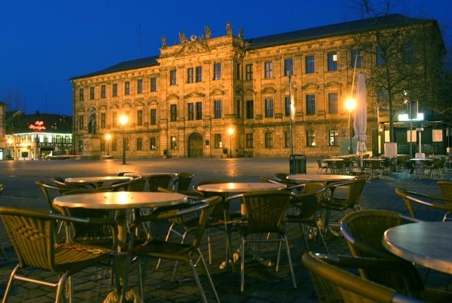 Erlangen city center