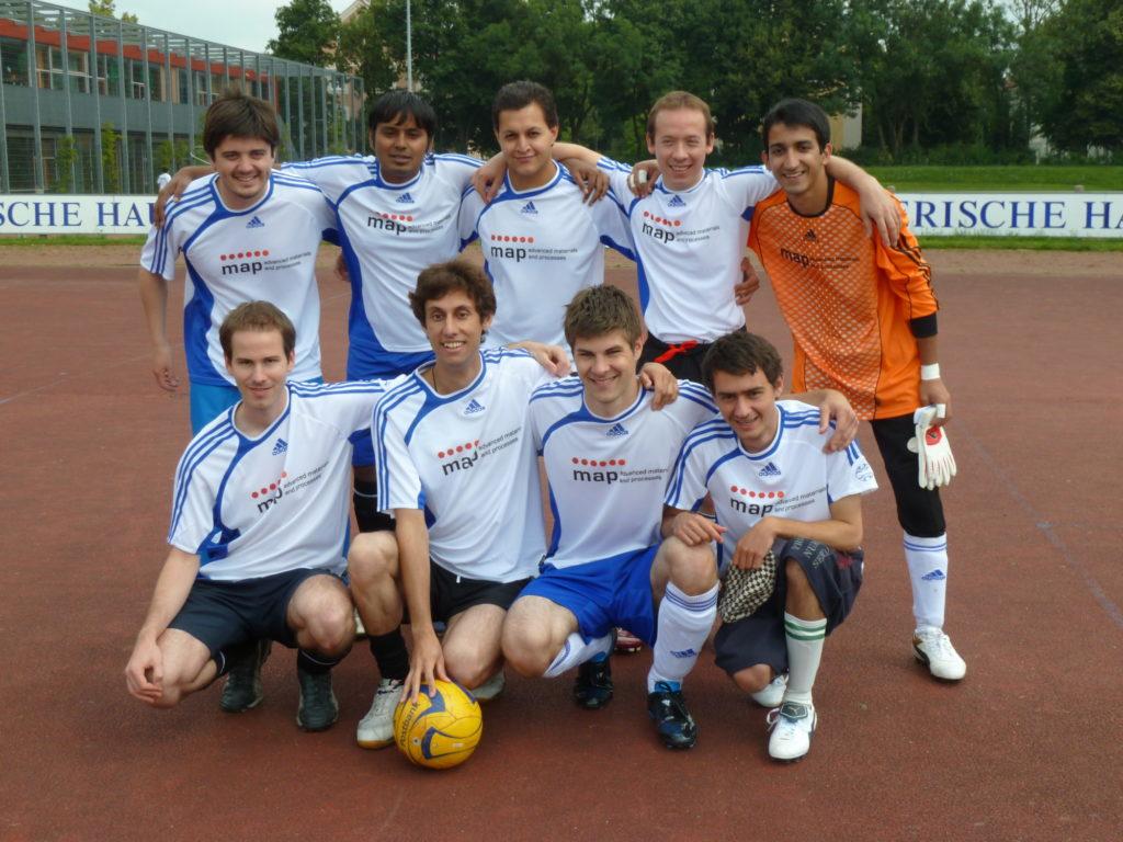 Mannschaftsbild EliteCup 2011