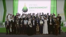 "Towards entry ""Graduate Maximilian Goeltz introduced the results of his Master thesis at PetroEnvironment 2016  in Saudi-Arabia"""