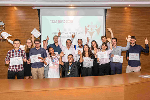 "Towards entry ""MAP student participates in international students' competition in Brazil"""